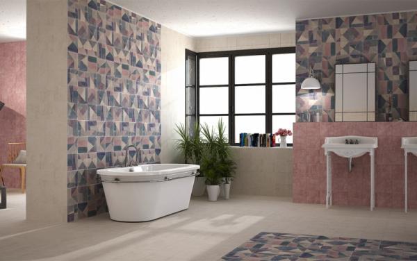 Плочки за баня CEMENTINE