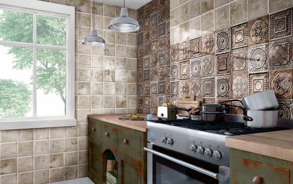 Плочки за кухня TIN TILE