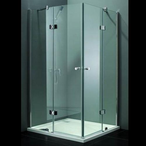 90/90/185 Квадратна душ кабина с прозрачно стъкло