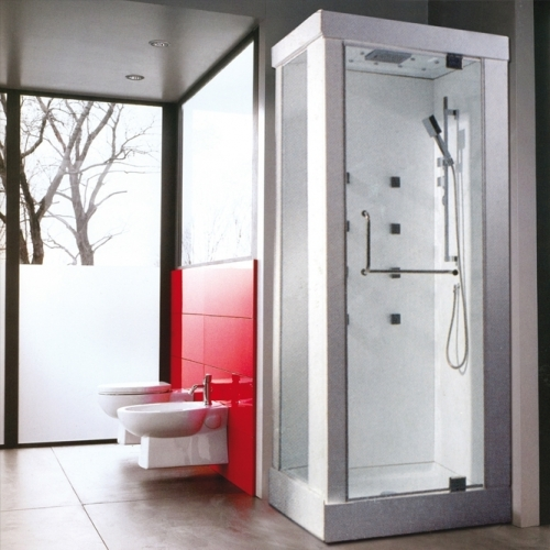 100/80/228 Правоъгълна хидромасажна душ кабина