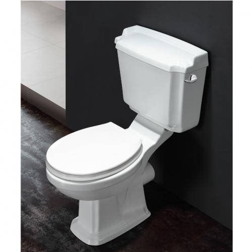 Комплект - тоалет с плавнопадащ капак и механизъм