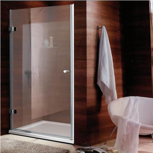 90/185 Параван с една отваряема врата с прозрачно стъкло