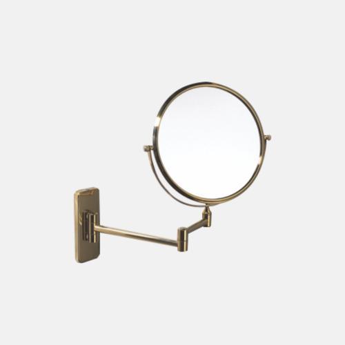 Увеличително огледало за баня с бронзово покритие