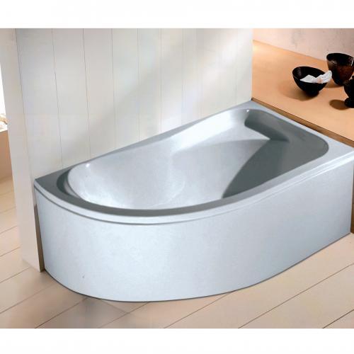 Асиметрична ъглова вана за десен ъгъл