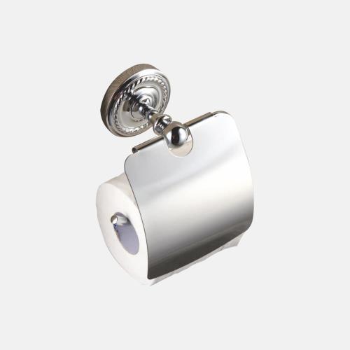 Поставка за тоалетна хартия с хромирано покритие