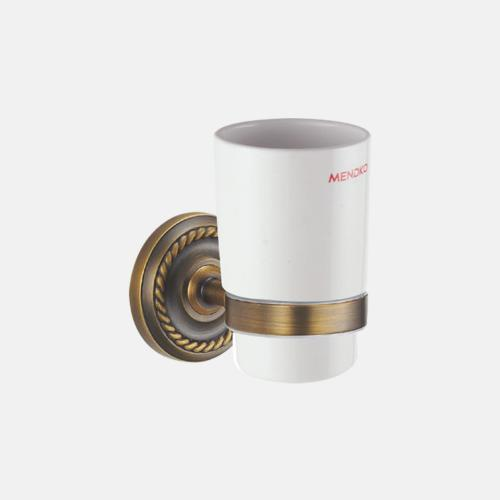 Поставка за чаша от бронз и порцелан