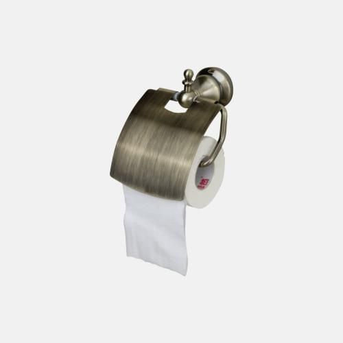 Бронзова поставка за тоалетна хартия