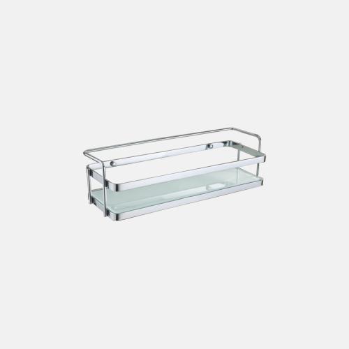 Стъклен рафт за баня