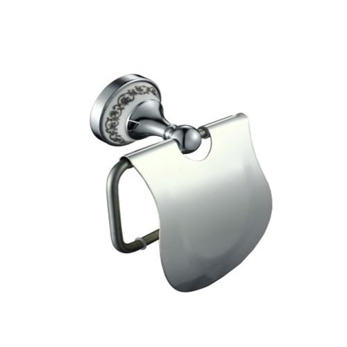 Хромирана поставка за тоалетна хартия