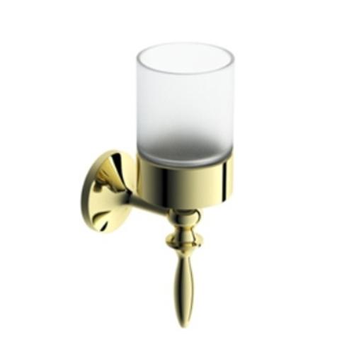 Порцеланова поставка за чаша с хромиран държач