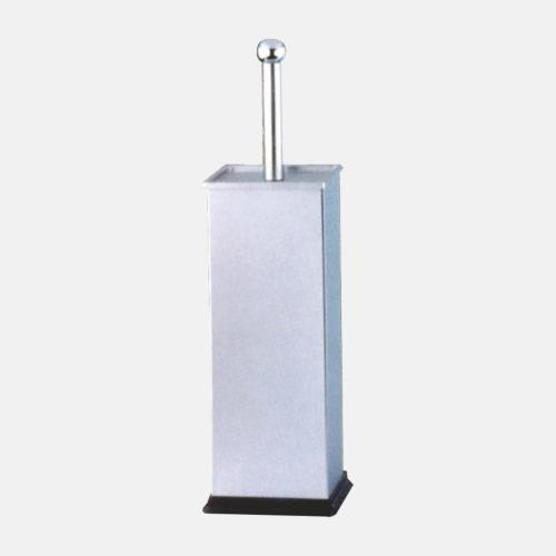 Квадратна стояща четка за тоалетна с хромирано покритие