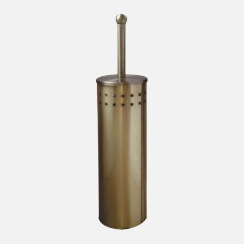 Стояща четка за тоалетна с бронзово покритие