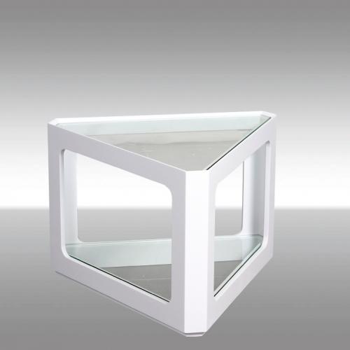 Холна масичка със стъклен плот