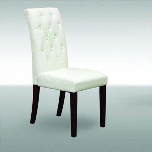 Трапезарен стол с капитонирана дамаска
