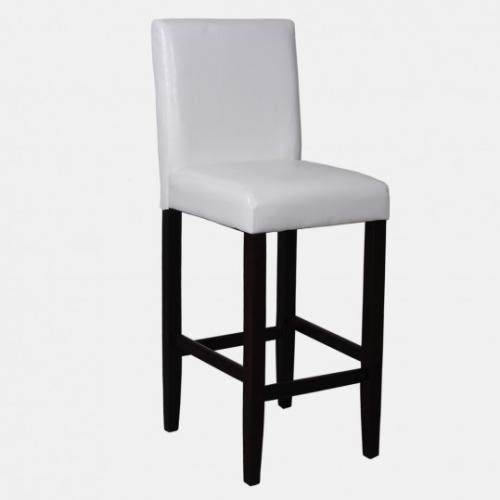 Модерен, кожен бар стол