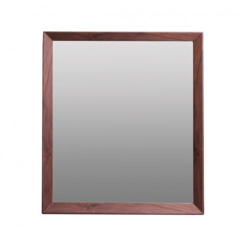 Огледало с рамка в цвят орех