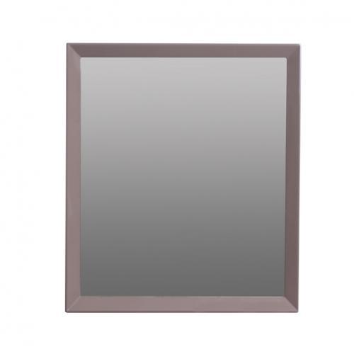 Огледало с рамка в цвят лак таупе