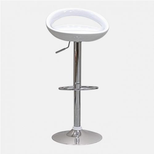 Бял бар стол