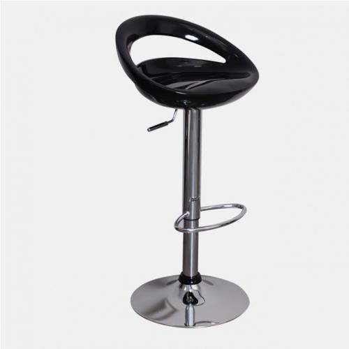 Черен бар стол