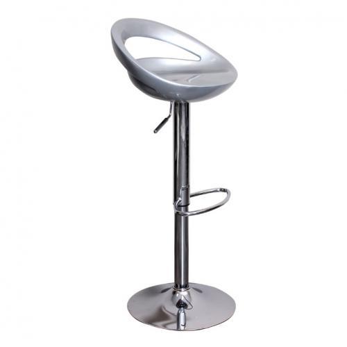 Сребрист бар стол