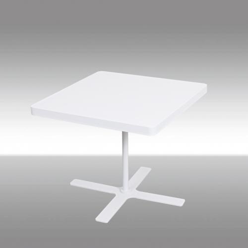 Квадратна холна маса в бял цвят