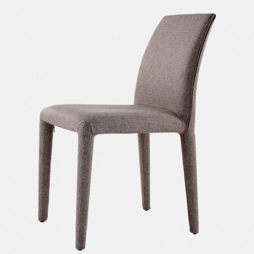 Трапезарен стол в дамаска и тапицирани крака