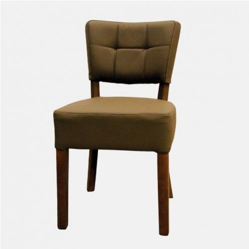 Трапезарен стол с кожа