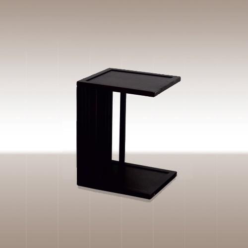 Помощна маса в черен цвят