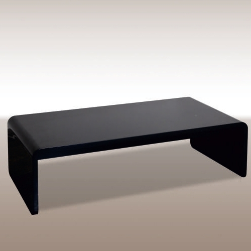 Холна маса в черен лак