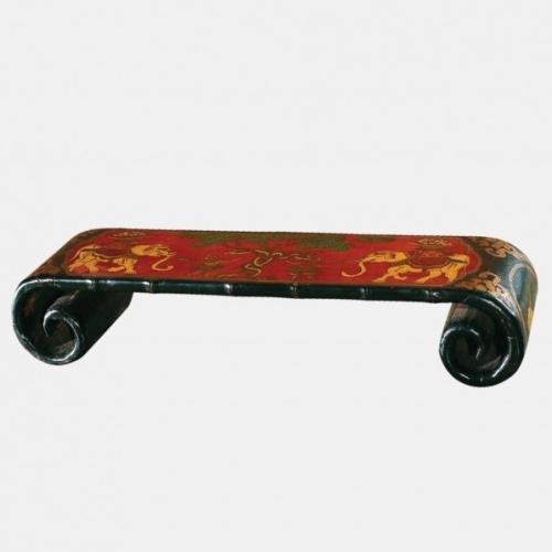Дървен винтидж поднос - маса