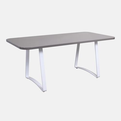 Трапезарна маса със сив плот