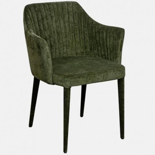 Трапезарен стол изцяло в дамаска