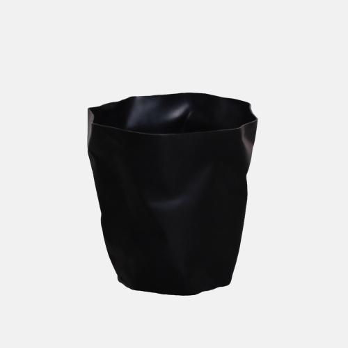 Креативно кошче за боклук в черен цвят