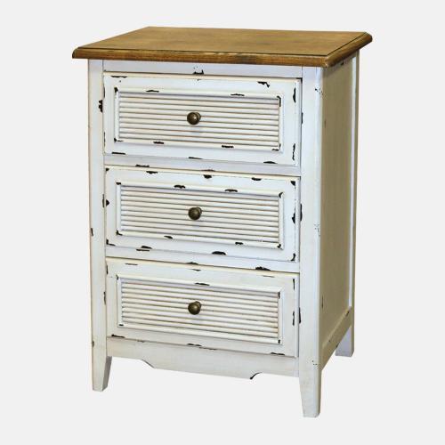 Дървено помощно шкафче