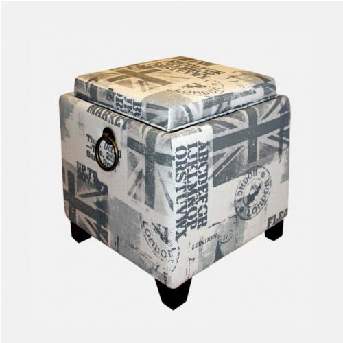 Табуретка с контейнер