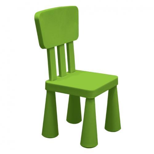 Детско столче в зелен цвят