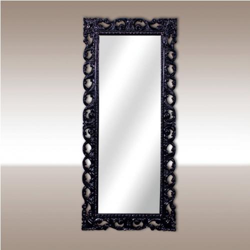 Огледало в черен лак
