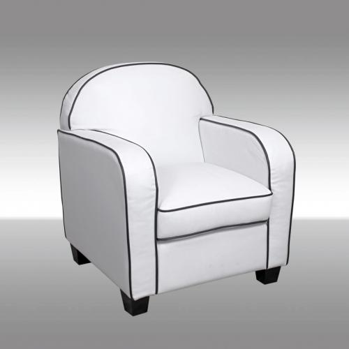 Бял фотьойл