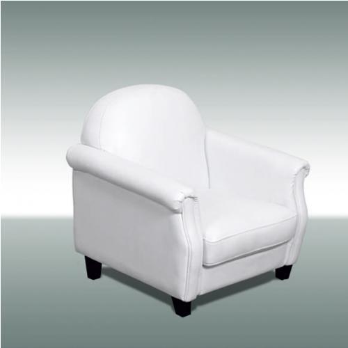 Бяло детско фотьойлче