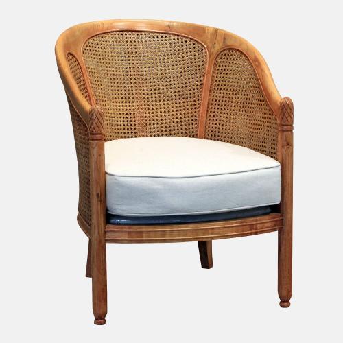 Ратанов стол от бряст