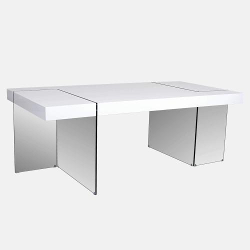 Трапезарна маса със стъклени крака