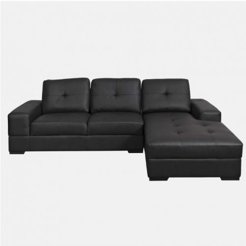 Ъглов диван 3-ка с дясна лежанка