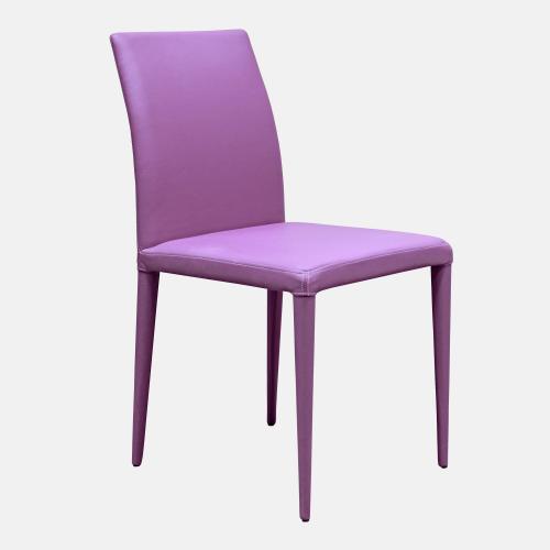 Трапезарен стол в изкуствена кожа