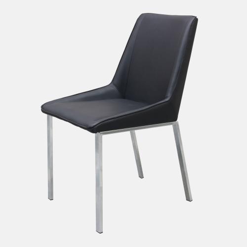 Трапезарен стол в рециклирана кожа