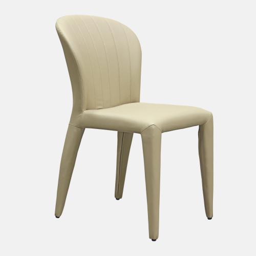 Трапезарен стол от изкуствена кожа