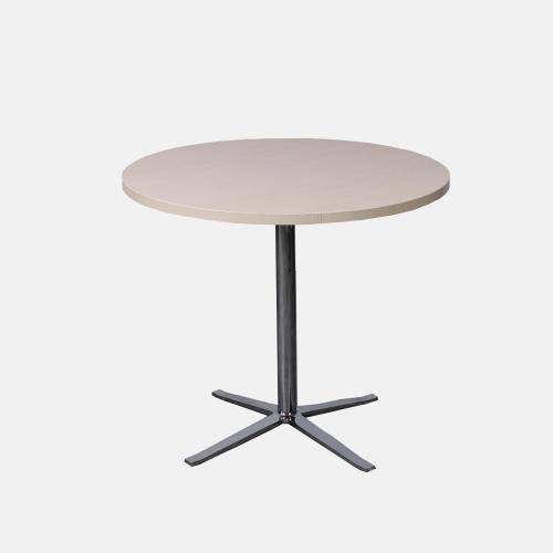Трапезарна маса с кръгъл плот