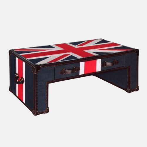 Холна маса с английски флаг