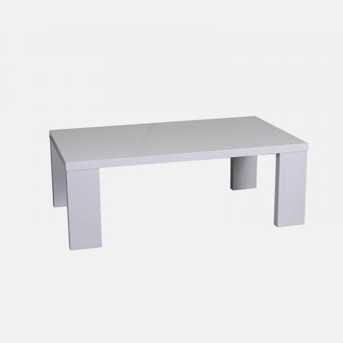 Холна маса в бял лак