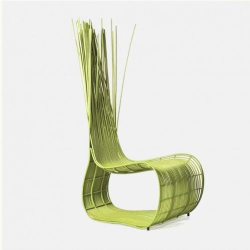 Зелен градински стол