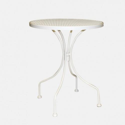 Бяла градинска маса